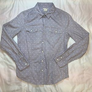 NWOT Levi's Pearl Snap Button Down
